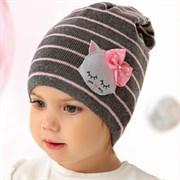 .AJS шапка 40-048 одинарная вязка (р.50-52)