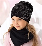 .AJS шапка  40-159 одинарная вязка (р.52-54)