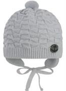 GRANS шапка N154 вязаная, подклад хлопок (р.36-38)