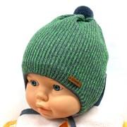 GRANS шапка Ku 428 вязаная, подклад хлопок (р.42-44)