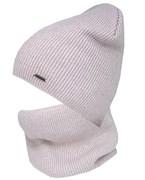 Grans комплект K553 шапка на хлопке +снуд (р.50-52)