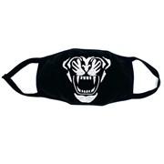 маска на лицо (флис+трикотаж) - тигр