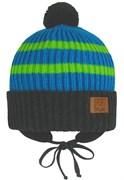 GRANS шапка Ku 447 вязаная, подклад хлопок (р.48-50)