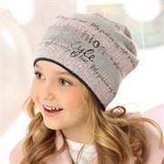 .AJS шапка 40-165 одинарная вязка (р.52-54)
