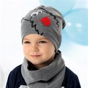 .AJS шапка 40-116L одинарный трикотаж (р.52-54)