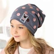 .AJS шапка 40-167L одинарный трикотаж (р.52-54)