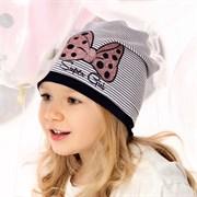.AJS шапка 40-080L одинарный трикотаж (р.52-54)