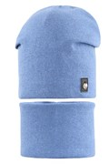 AGBO комплект 2072 FAZI шапка вязаная, подклад хлопок + снуд (р.52-54)