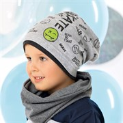 .AJS шапка 40-107M одинарный трикотаж (р.48-50)