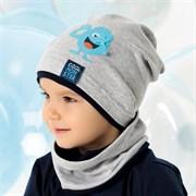 .AJS шапка 40-125S одинарный трикотаж (р.44-46)