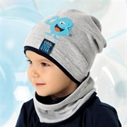 .AJS шапка 40-125L одинарный трикотаж (р.52-54)