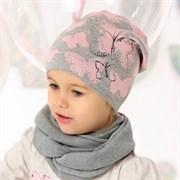 .AJS шапка 40-093 одинарная вязка (р.50-52)