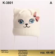 Magrof шапка KOD-3801 ISOSOFT подклад хлопок (р.44-50)