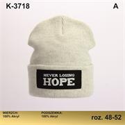 Magrof шапка KOD-3718 двойная вязка (р.48-54)