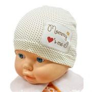 Milli шапка модель мама одинарный трикотаж (р.38-40)