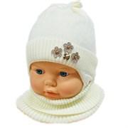 LAMIR комплект MUD 20/20 шапка на хлопке + манишка (р.40-42)