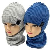 LAMIR комплект MU 20/15 шапка на хлопке + снуд (р.48-50)