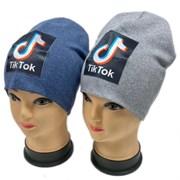 ambra шапка двойной трикотаж (р.54-56) тикток -2
