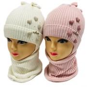 LAMIR комплект MUD 20/7 шапка на хлопке + снуд (р.48-50)