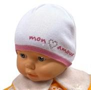 Barbaras модель U 55 шапка одинарная вязка (р.42-44, 44-46)