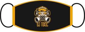 маска двухслойная, с резинкой - Dj toxic