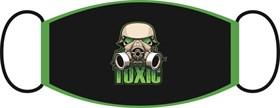 маска двухслойная, с резинкой - Toxic