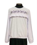 Catherine блузка длинный рукав, вышивка,белая (р.128-158)