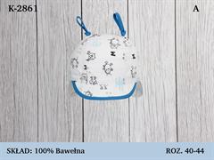 Magrof кепка KOD-2861 с завязками (р.40-44)