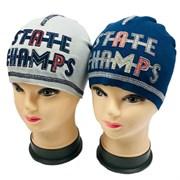 Witmar шапка двойной трикотаж STATE CHAMPS(р.50-52)
