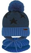 Grans комплект A 1103 ST шапка с утеплителем, подклад хлопок+снуд (р.44-46)