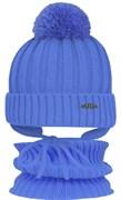 GRANS комплект  A 809M ST шапка с утеплителем, подклад хлопок+снуд (р.50-52)