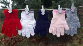 margot перчатки GUMI одинарная вязка (размер 80)