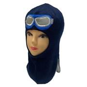 Milli шлем модель Пилот, на хлопке (на 2 года) демисезонный
