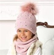 .AJS шапка 40-475 двойная вязка (р.54-56)