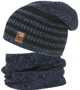 GRANS комплект А 841 F шапка подклад флис + снуд (р.52-54)