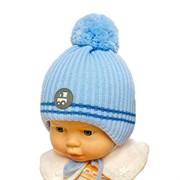 GRANS шапка A 1086 ST на утеплителе, подклад хлопок (р.36-38)