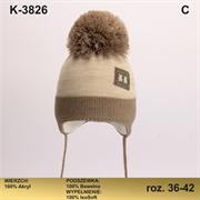 Magrof шапка KOD-3826 ISOSOFT подклад хлопок (р.36-42)