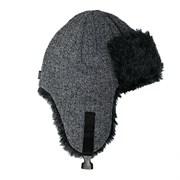 AGBO шапка-ушанка 3160 Jarek вязаная, подклад флис (р.52-54)