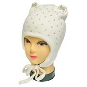 Angel шапка AN-5937 вязаная (кролик),подклад хлопок (р.50-52) белая
