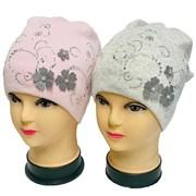 Barbaras модель UU 247/C шапка вязаная, подклад хлопок (р.52-54)
