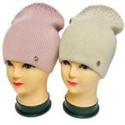 LAMIR шапка Алена двойная вязка (р.56-58)