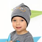 .AJS шапка 42-096 одинарный трикотаж (р.44-46, 48-50, 52-54)
