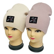 LAMIR шапка Зайчик P 150 двойная вязка (р.54-56)