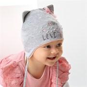 .AJS шапка 42-014 двойной трикотаж (р.40-42, 44-46)