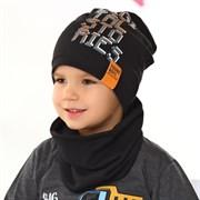 .AJS шапка 42-170 одинарный трикотаж (р.48-50, 52-54)