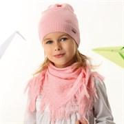 .AJS комплект 42-144 шапка одинарная вязка + косынка (р.52-54)