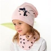 .AJS комплект 42-168 шапка одинарный трикотаж + косынка (р.48-50, 52-54)