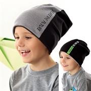 .AJS шапка 42-203 двухсторонний трикотаж (р.48-50, 52-54)