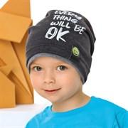.AJS шапка 42-097 одинарный трикотаж (р.48-50, 52-54)