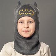 Milli шлем модель Летучая Мышь, на хлопке (на 2года) демисезонный
